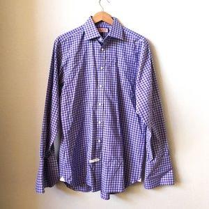 THOMAS PINK Classic Fit Button Dress Shirt 15.5 M